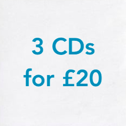 3 CDs for £20