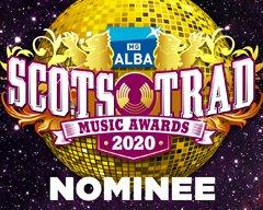 Scots Trad Music Awards nominee logo
